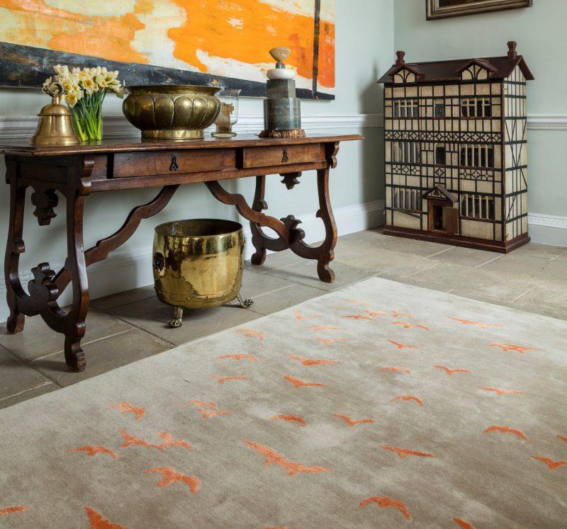 birds luxury rugs