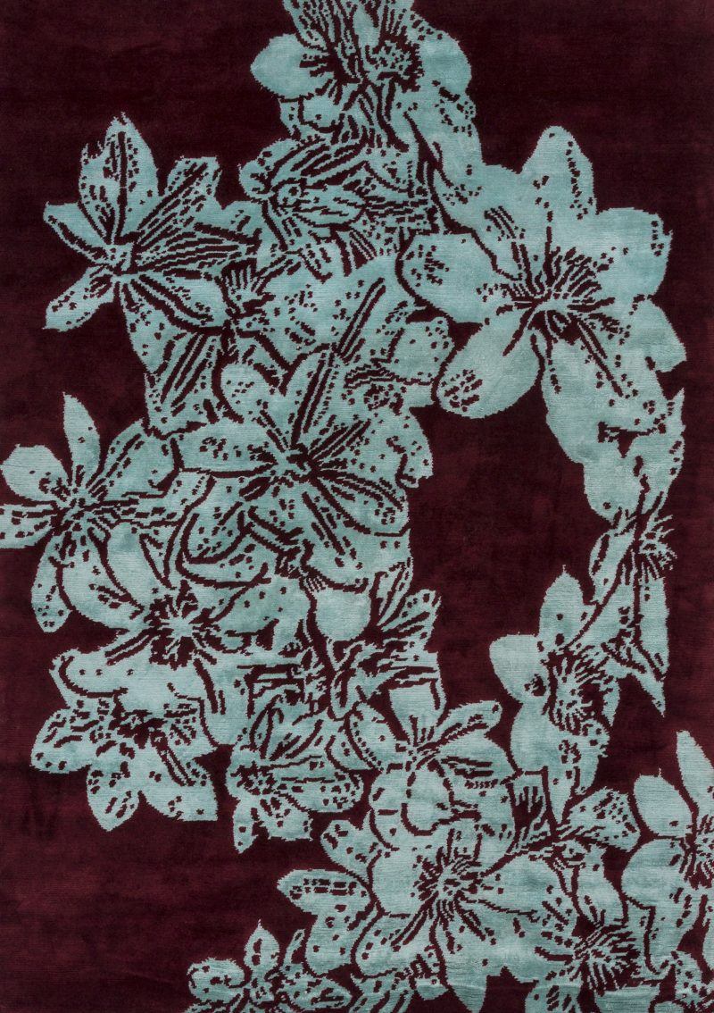 clematis luxury rugs