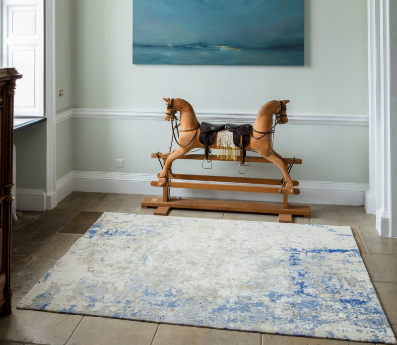 cornflower luxury rugs