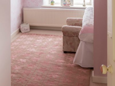 flowers triangles luxury rugs