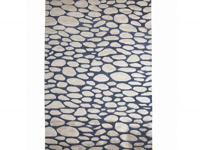 Pebble Woad Rug Luxury Rugs