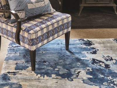 The Big Blue Rug Luxury Rugs